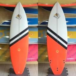 Pranchas de Surf Personalizadas de 5.8 a 6.6 Pranchinha com Kit de Quilhas e Pintura