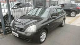 Renault clio sedan 1.6 privilege top de linha*financio - 2006