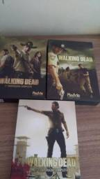 3 boxes dvd the walking dead