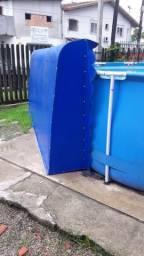 Vendo toldo 3,32x1,50 azul