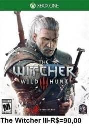 Jogo The Witcher 3 de Xbox One