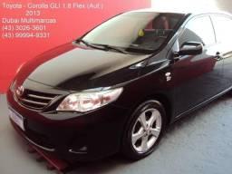 Toyota Corolla GLi 1.8 Flex (Aut.) (Couro) - Periciado - 2013
