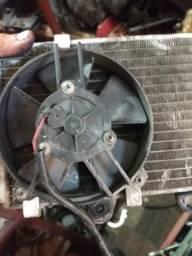 Ventoinha do radiador da XT 660