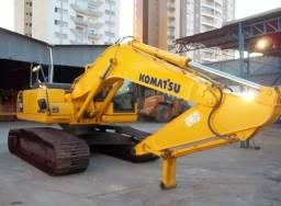 Escavadeira hidráulica komatsu series 8