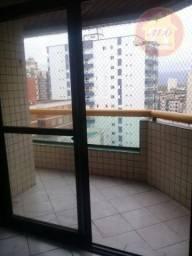 Apartamento com 2 dormitórios para alugar, 80 m² por R$ 1.700,00/mês - Tupi - Praia Grande