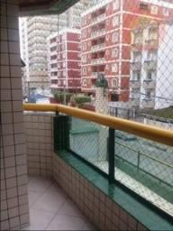 Apartamento com 2 dormitórios para alugar, 80 m² por R$ 1.600,00/mês - Tupi - Praia Grande