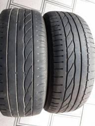 Título do anúncio: Par de pneus 235/60/16 usado