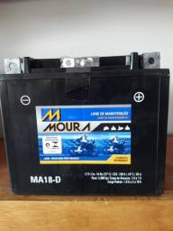 Título do anúncio: Bateria Moura 18 Amperes para Moto