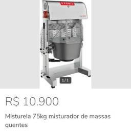 Máquina de massa de salgadinho 75 lts ALESSANDRO *