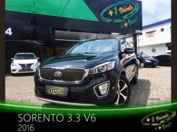 Kia Sorento 3.3 V6 2016 Preto - 2016