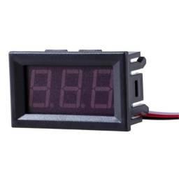 Voltímetro Led Digital Com Remote 100v 3 Fios
