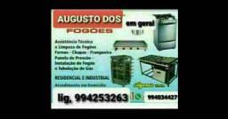 Para conserta fogão e cimilares chame Augusto Dos fogões