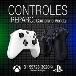 Manutenção controles especializada em Xbox one, ps4, Xbox 360, ps3, etc,  limpeza consoles