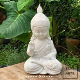 Buda Proteção - Mármore - Karana Mudra