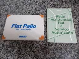Manual do Proprietário Original do Fiat Palio 1997