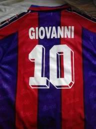 Camisa Barcelona #10 Giovanni