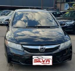 Honda civic ano 09 completo automático com gnv