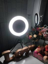 Ring Light + Tripé De Mesa Luz Led