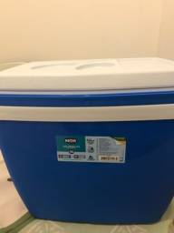 Cooler zero na caixa