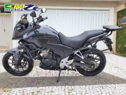 Honda CB 500 X Abs 2015 Preta com 17.000 km