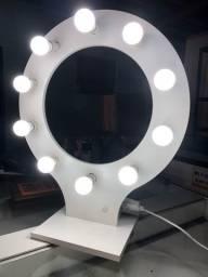Ring light caseiro