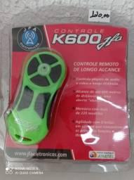 Controle remoto K600  de longo alcance novo