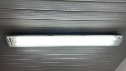 Luminária tubo