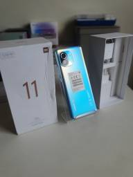 Título do anúncio: Xiaomi Mi 11 5G top impecável snapdragon 888