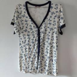 Camisa de pijama Meia de Seda