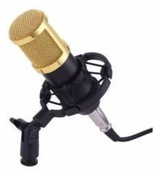 Microfone Condensador BM800 Novo Lacrado Qualidade Profissional!