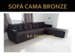 Título do anúncio: Sofá com chaise modelo Bronze