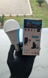 Título do anúncio: Lâmpada 15W Wi-fi (Alexa / Google) -  Comando de Voz!