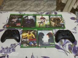 Jogos e controle de Xbox one