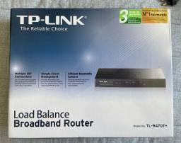 Roeteador Load Balance TL-R470T+ Ideal Para Somar Links de Internet