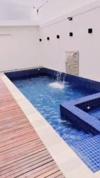 Aluga-se espaço com piscina para festas e eventos.