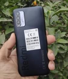 Xiaomi Redmi 9T 10X S/Juros 128GB/4Ram/1Ano de Garantia/Snapdragon 662/48MP