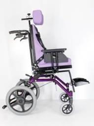 Cadeira de Rodas Postural Reclinável  Sobre  Encomenda