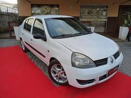 Título do anúncio: Renault Clio Authentique, sedan, 1.0 ano 2007