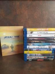 Título do anúncio: coleção de filmes blu ray