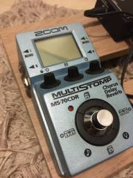 Pedaleira Zoom MS-70CDR