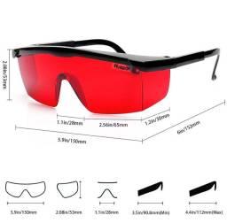Óculos especial para proteção e operação com lasers vermelhos trenas,níveis,feixes
