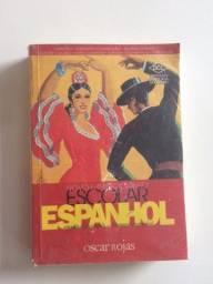 Título do anúncio: Dicionario escolar espanhol - Oscar Rojas