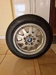 Título do anúncio: Roda original BMW com pneu novo