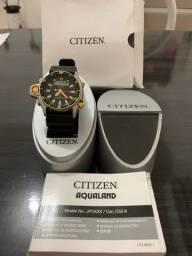 Título do anúncio: Relógio Citizen Aqualand Série Ouro
