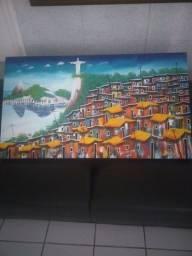 Pintura clássica do Rio de Janeiro arte