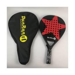 Título do anúncio: Raquete de Padle - Beach Tenis Praia - raquete de fibra de carbono com bolsa