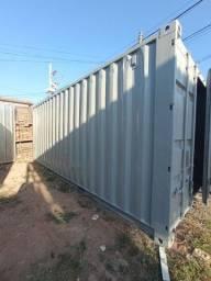Título do anúncio: container de 6 metros cortado e fecchado com chapa container