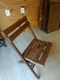 Título do anúncio: Cadeira dobrável tratada