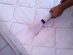 Limpeza de colchão a seco