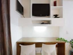 Flat 1 quarto 1 garagem para alugar em moema são paulo sp